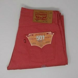 Men's Levi's 501 Button-fly Shrink-To-Fit Jeans